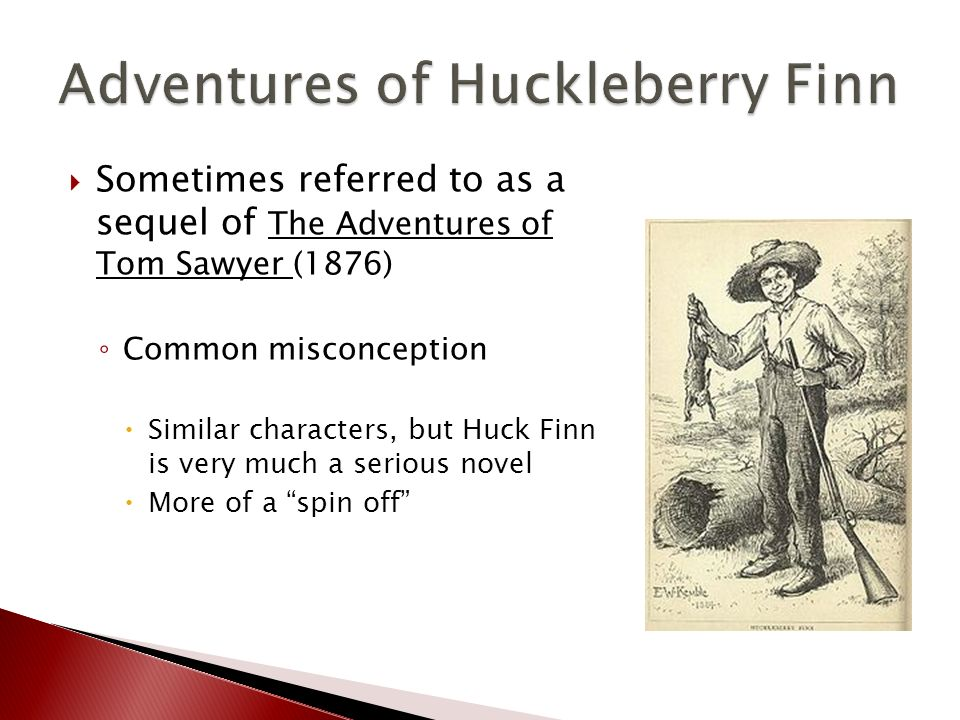 Huckleberry finn context