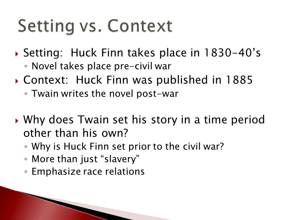 use of n word in huck Not so fast, say educators who've taught the book and see its historical value   the n-word: sanitizing 'huck finn' teaches the wrong lesson.
