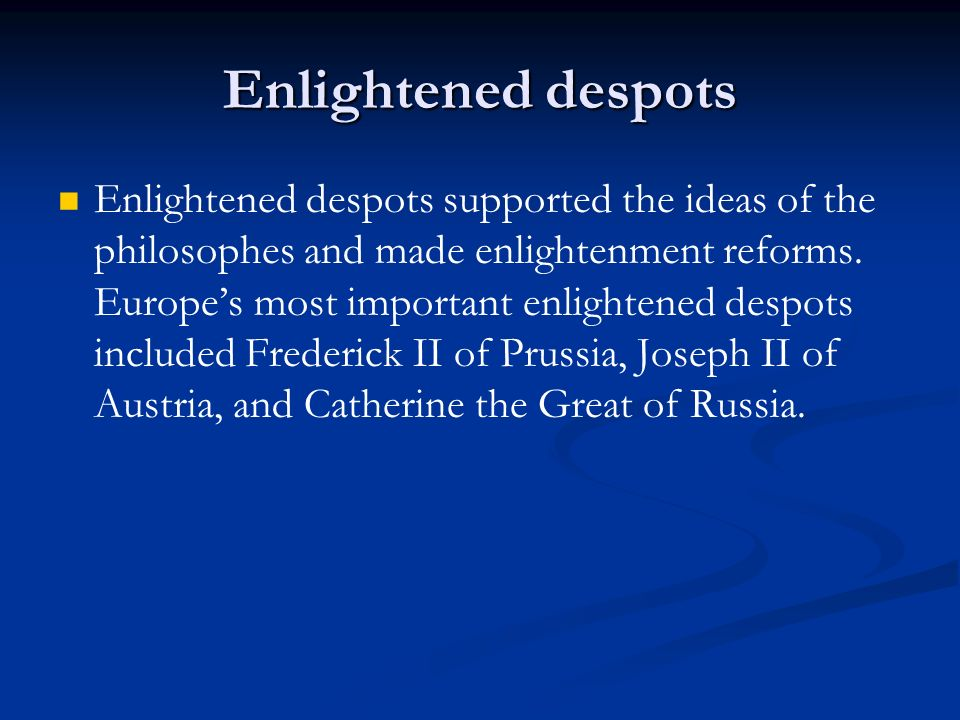 impacts catherine great russian enlightened society Yet it is in political thought that the philosophes have continued to have the greatest impact catherine ii (the great) of russia the enlightenment and society.