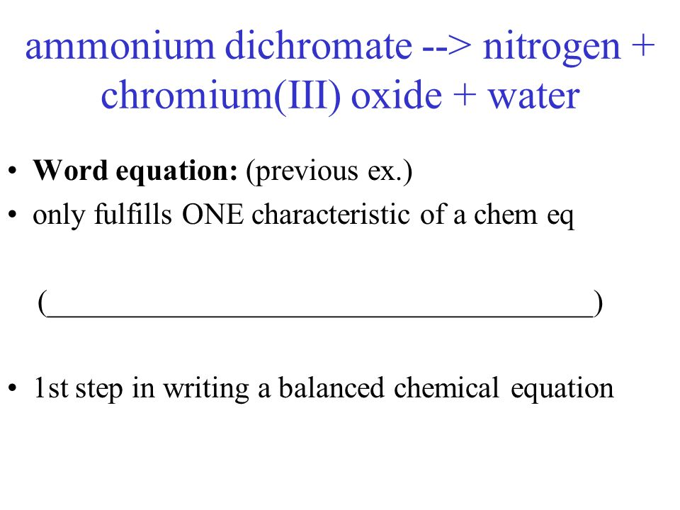 What is a balanced chemical equation for the breakdown of sodium hydroxide in water?
