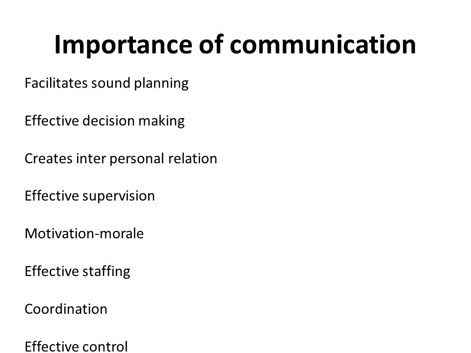 the importance of improving personal communications In truth, we live in a communication age and it's time we start taking it seriously why communication is today's most important skill.