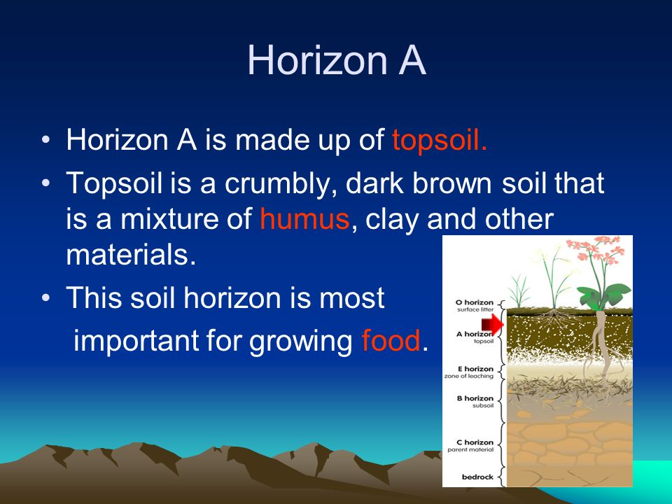 How soil forms ppt video online download for What 5 materials make up soil