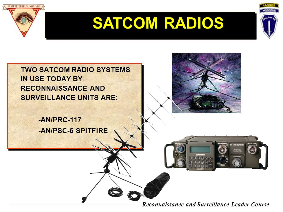 Reconnaissance Amp Surveillance Leader Course Ppt Video
