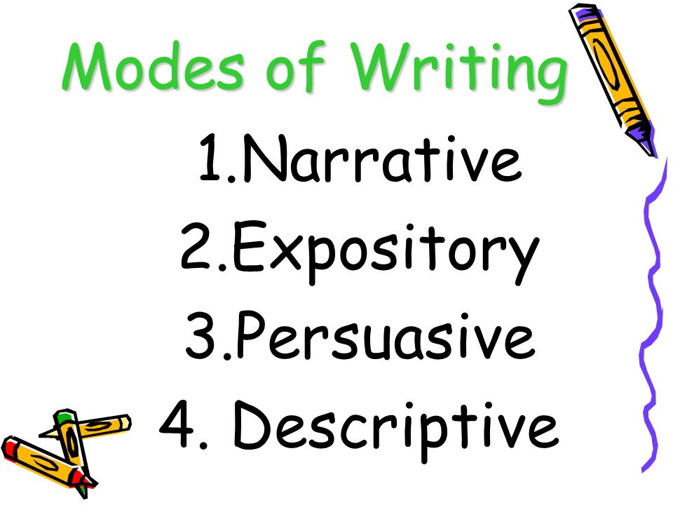 Descriptive narrative and expository essay