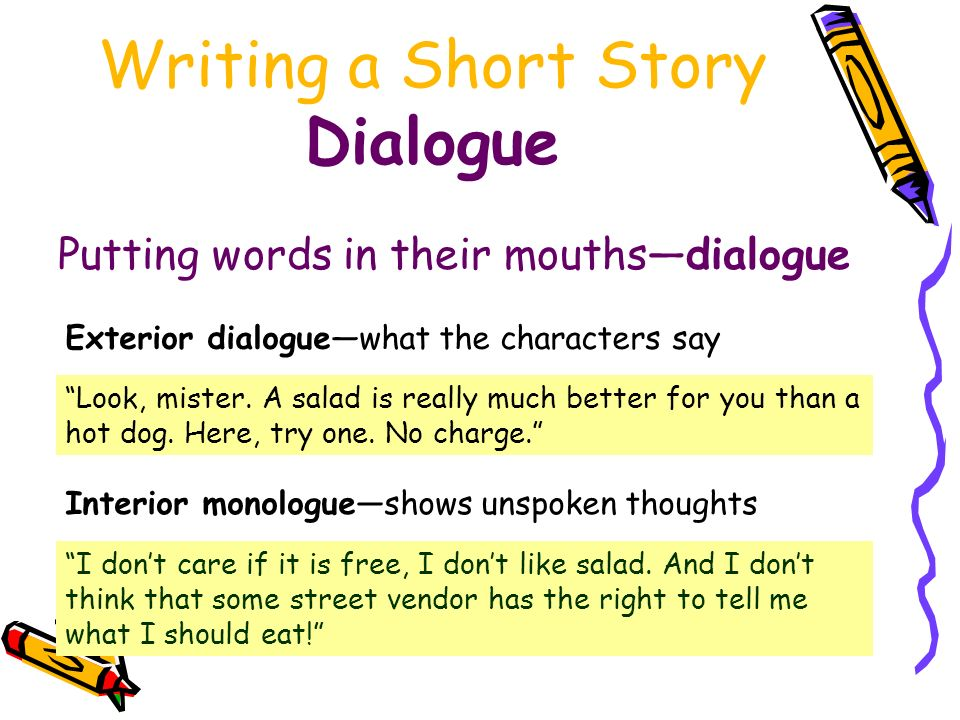 how to write i thought in dialogue