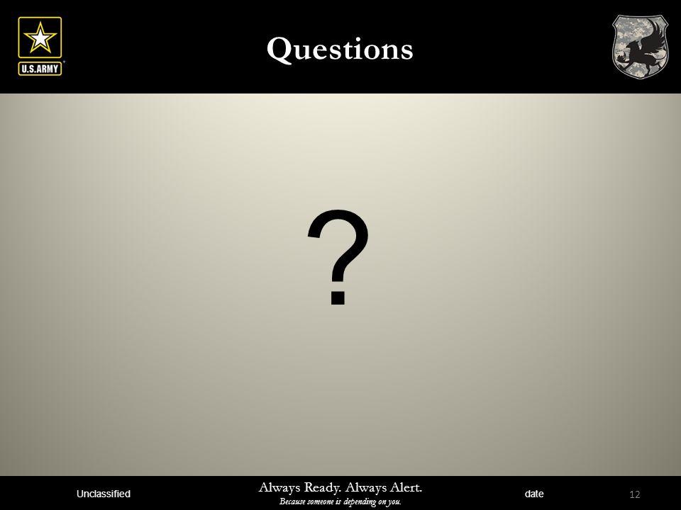 Questions Instructors Notes: