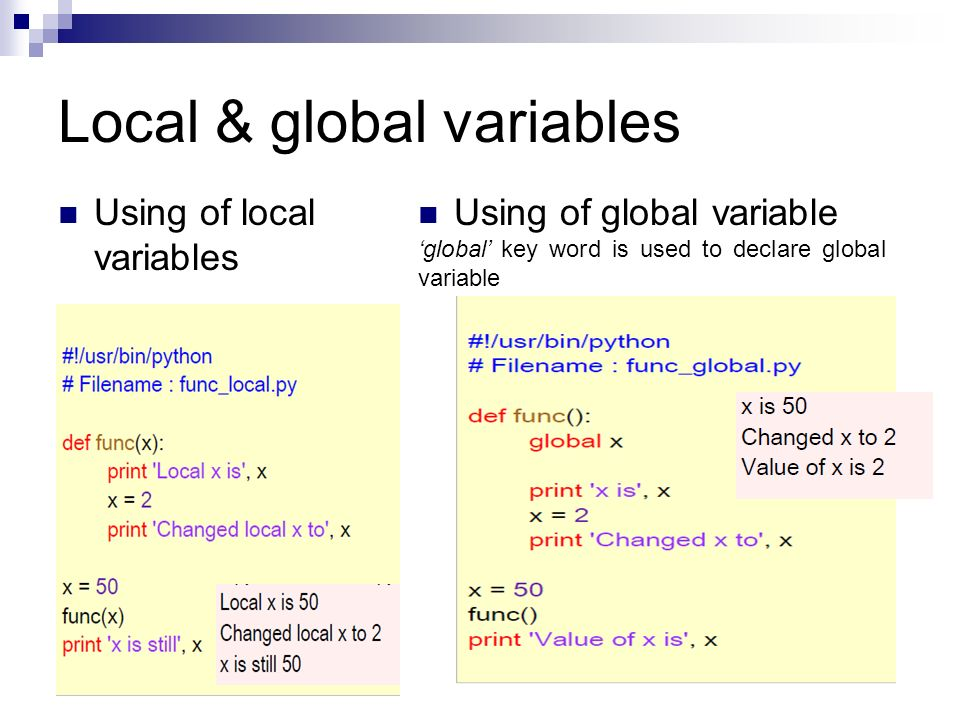 using global variables A variable is a named storage location in the computer's memory that contains data, such as a number or a text string the data contained in a variable is called the variable's value variables give you a way to store, retrieve, and manipulate values using names that help you understand what the.