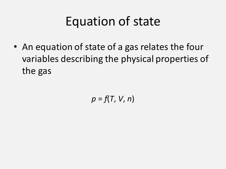 experiment 4 properties of gases Boyle's law: pressure vs volume of a gas at constant temperature  made about the temperature of the gas in this experiment  and properties, and how it.