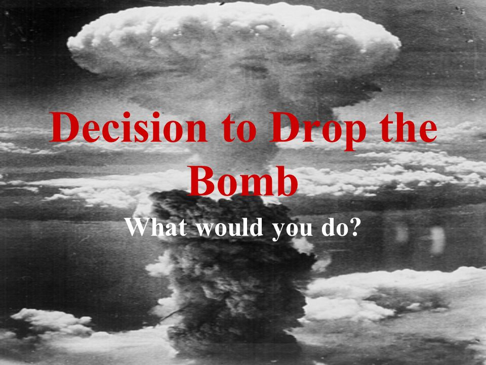 was the atomic bombing justified On aug 6, 1945, the united states dropped an atomic bomb on the japanese city of hiroshima, killing tens of thousands of people – many instantly, others from the effects of radiation.