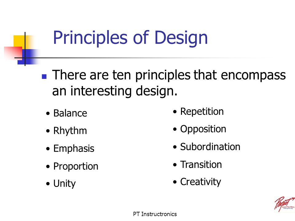 Principles Elements Of Design