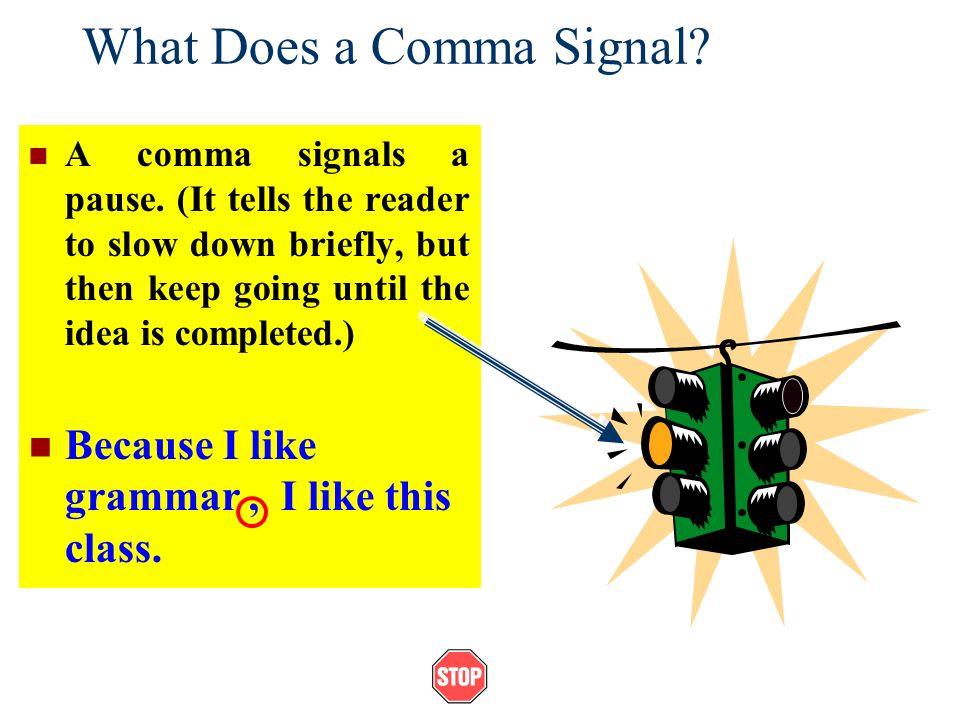 how to fix a comma splice error