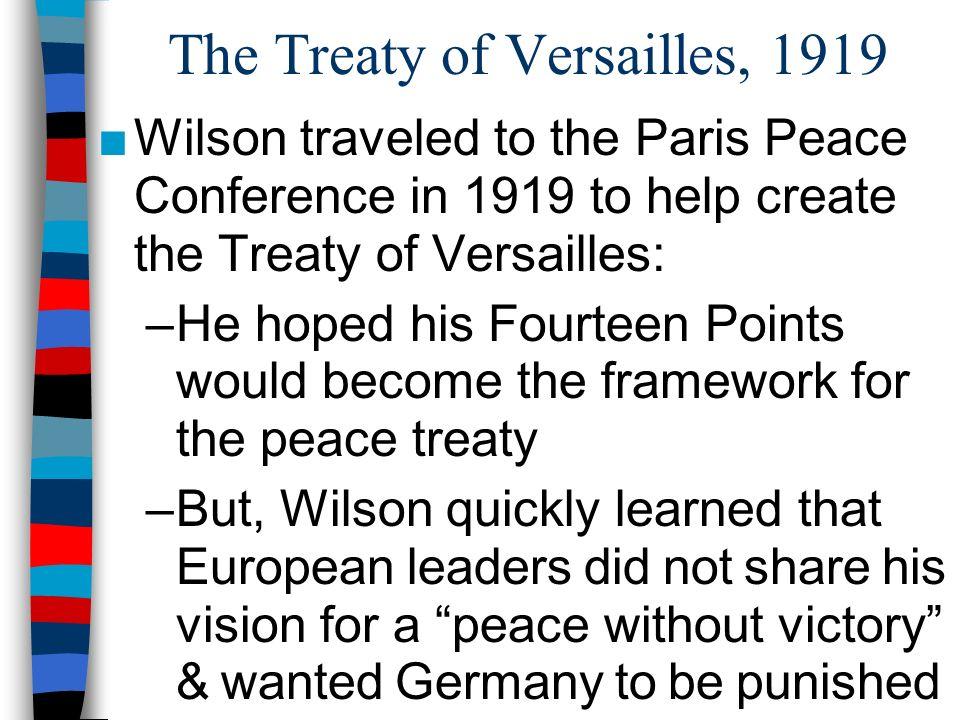 chapter 10 world war i 3 the treaty of versailles