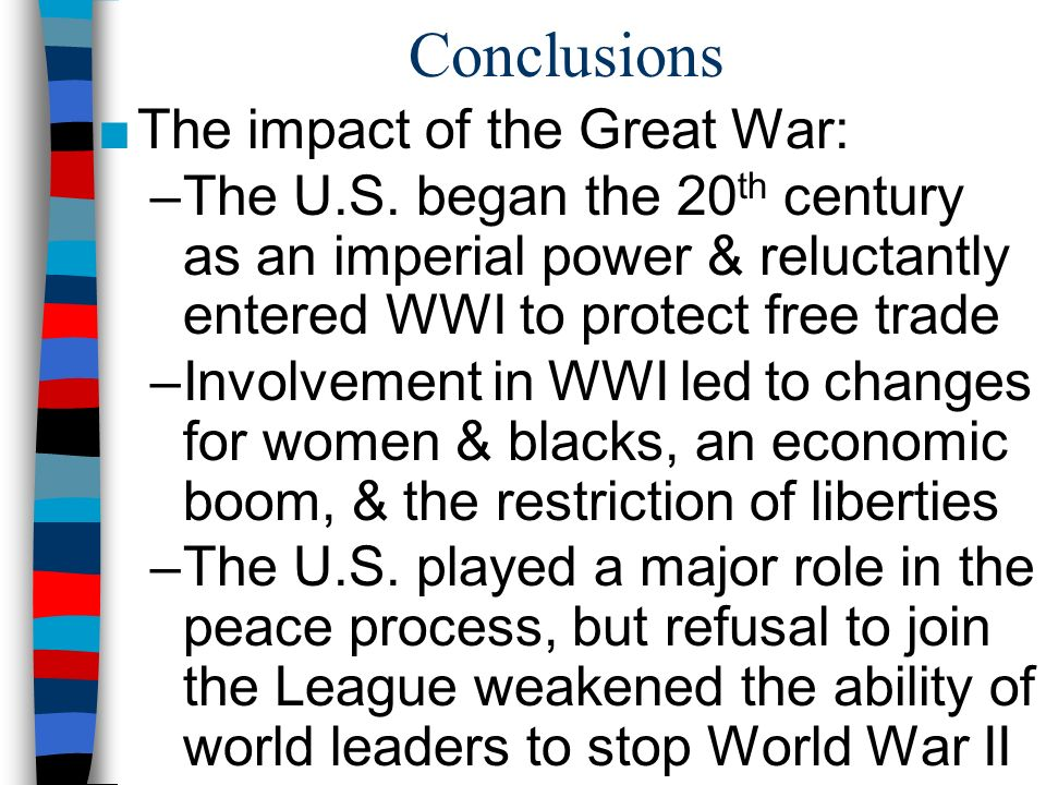 The Impact of World War II on America