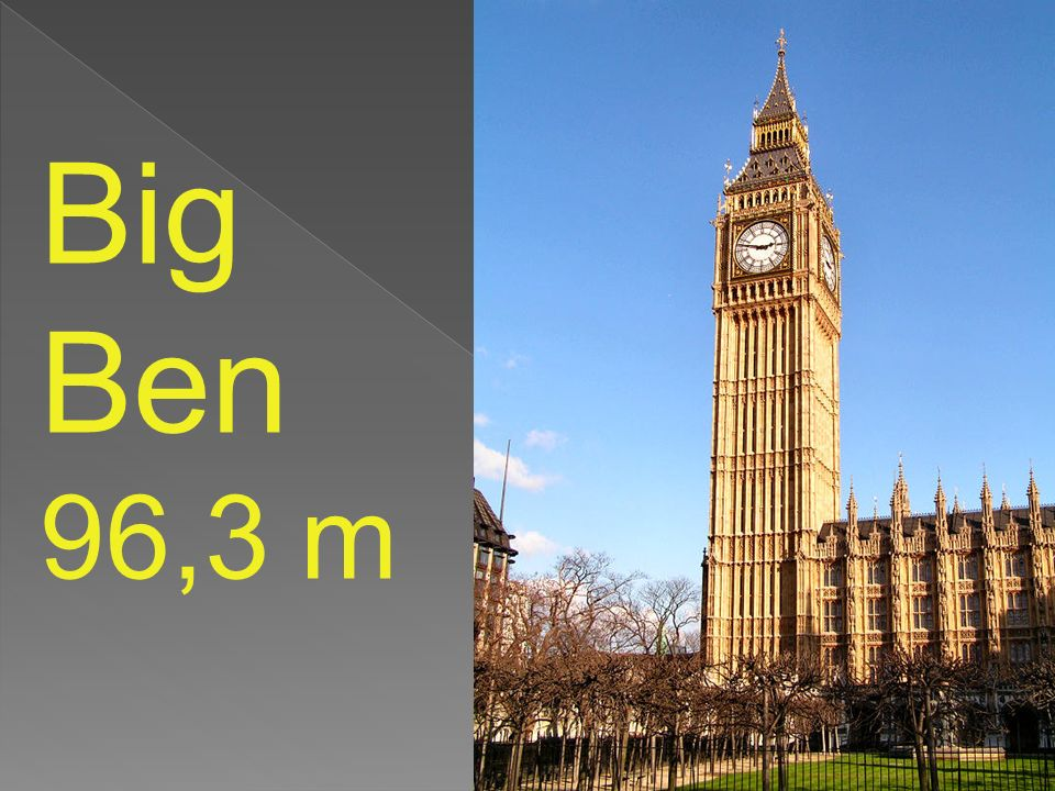 Big Ben 96,3 m