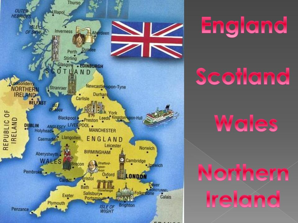 England Scotland Wales Northern Ireland