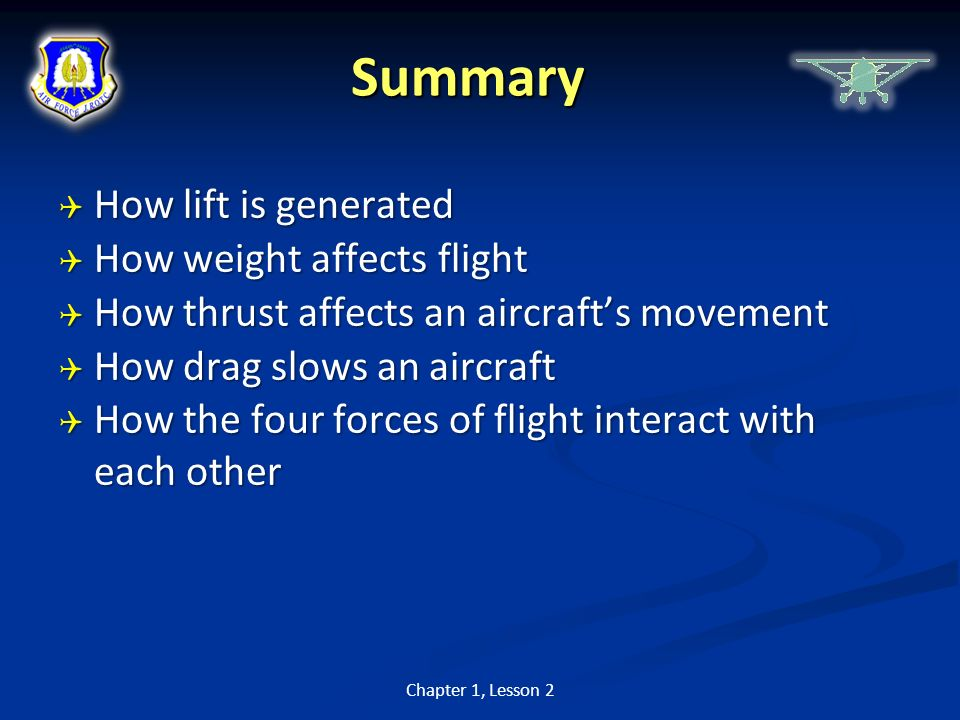 an analysis of the four airplane characteristics lift weight thrust and drag Lift and basic aerodynamics: four forces act upon an aircraft in relation  are thrust, drag, weight, and lift:  aerodynamics index axis of an airplane axis of .