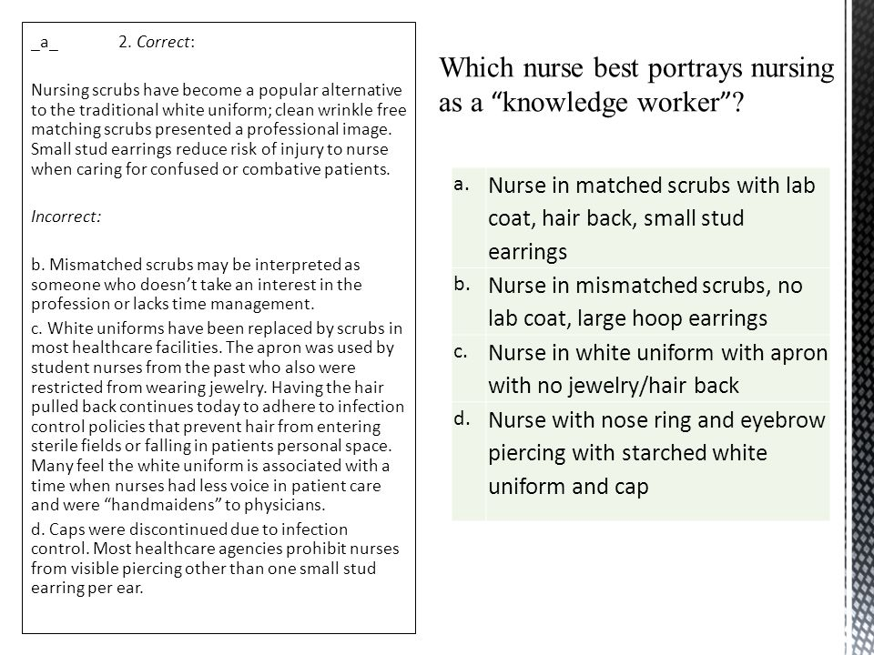 nurses as knowledge workers Bachelor of nursing studies research proposal title: a quantitative study of the attitude, knowledge and experience of staff nurses on prioritizing comfort.