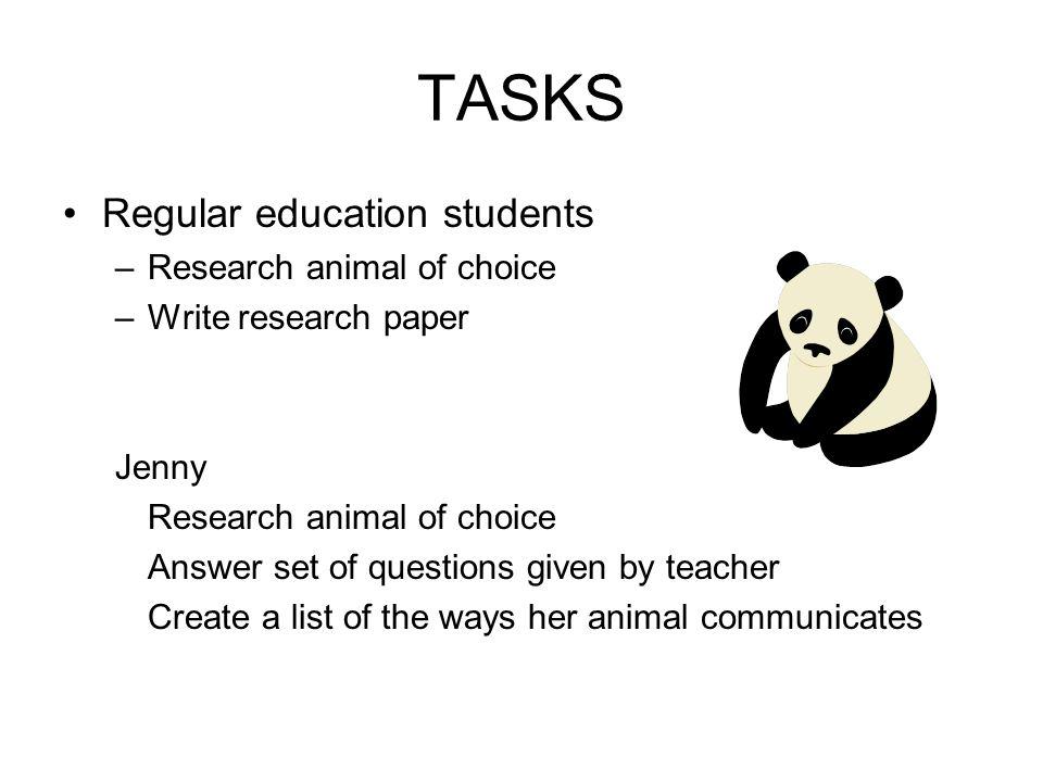 animal communication paper