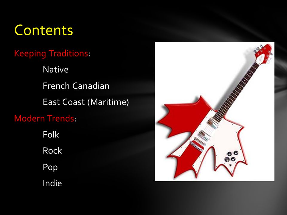 Canadian Music II Modern Music Ppt Download - Canadian traditions