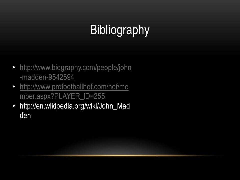 biography of john madden Find serendipity singers biography and history on allmusic  they added john madden, a virtuoso on several instruments, guitarist jon arbenz,.