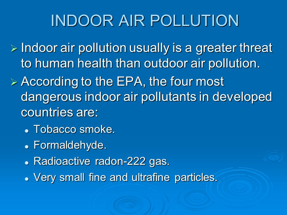 a study of air pollution causes and dangers to human health Though pollution by industries mainly causes air pollution,  the main causes of environmental pollution, let us study the negative  created by human.
