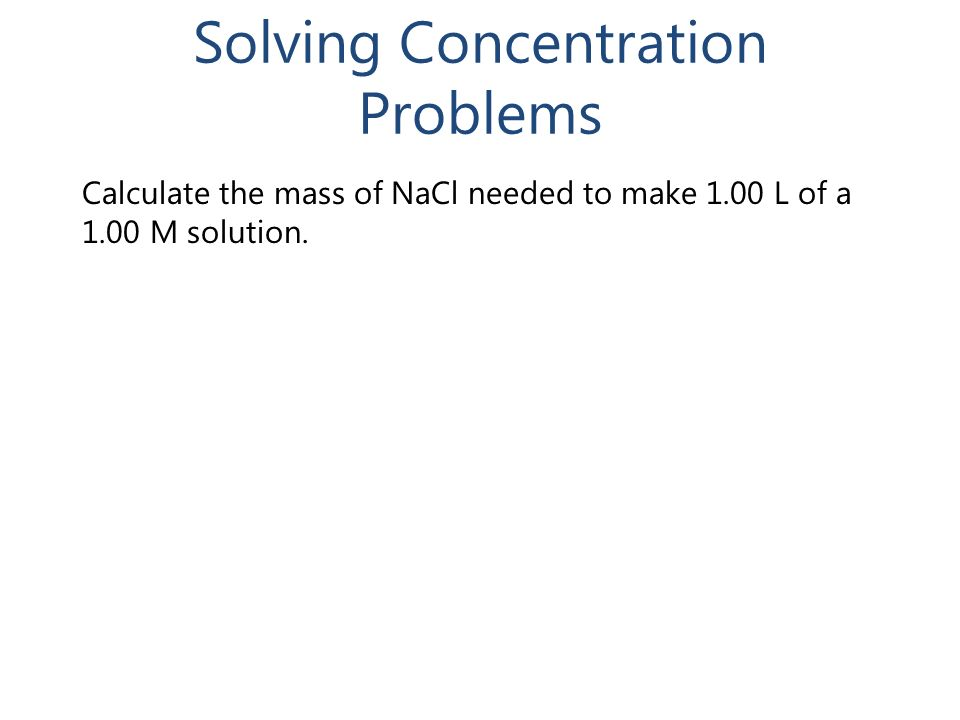 the concentration of nitrate ion in a solution essay Watch the video solution for the question: what is the concentration of nitrate ions  in.