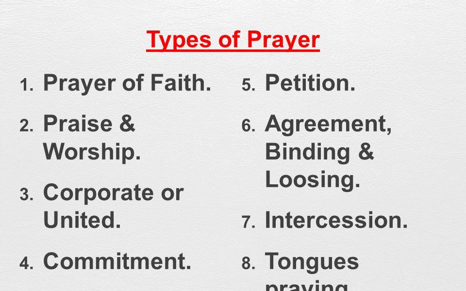 EFFECTIVE PRAYER - Part 5 - ppt download