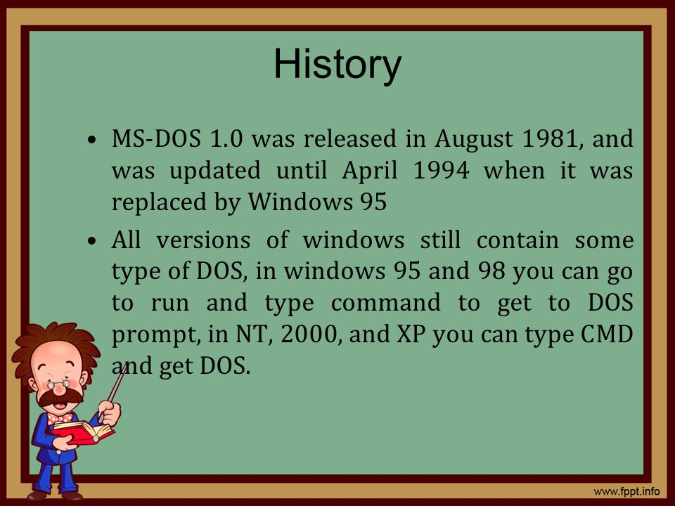 Ms Dos 1981 Images - Reverse Search