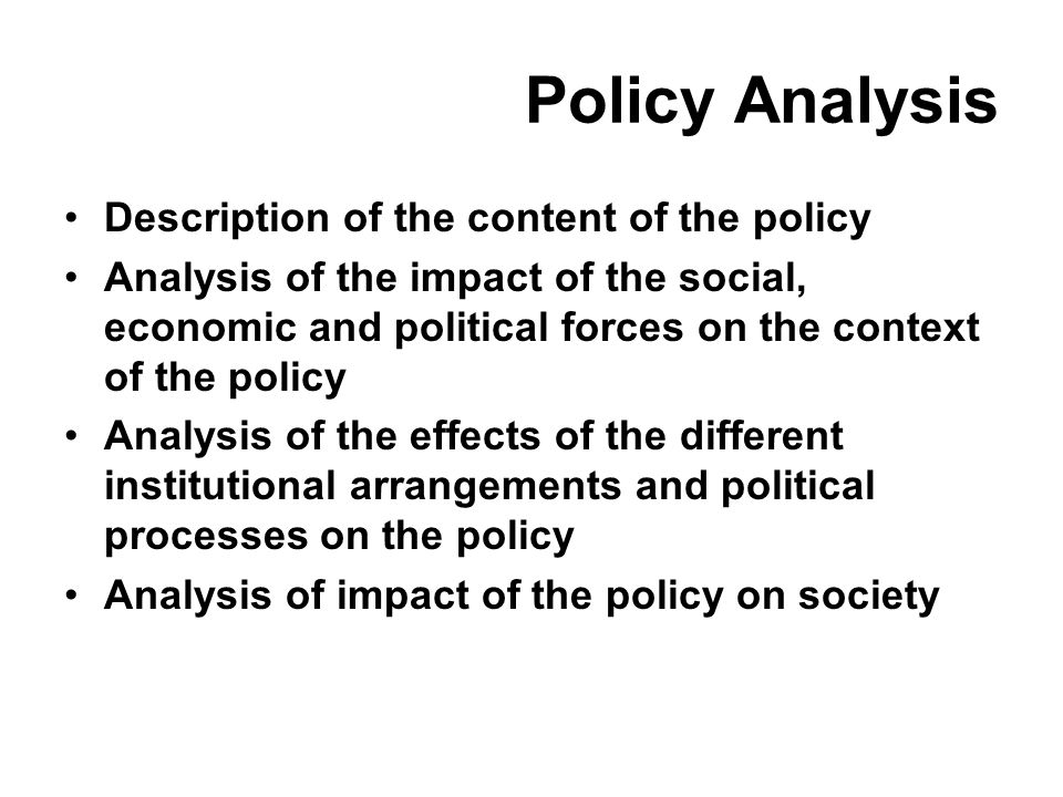an analysis of the effects of political institutions on economic policy Inequality and institutions: what theory, history, and (some abstract: many scholars argue that political institutions affect economic and social inequality, while others claim that inequality affects which range from the rise of democracy in ancient greece to the effects of the two.
