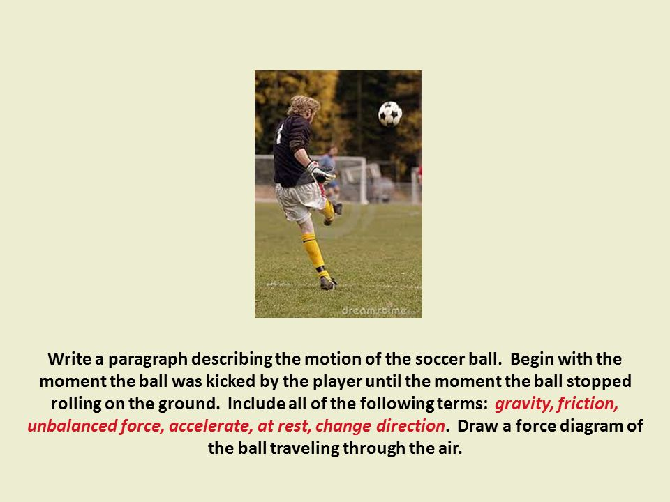 The Nature of Force. - ppt download Soccer Ball Rolling Friction