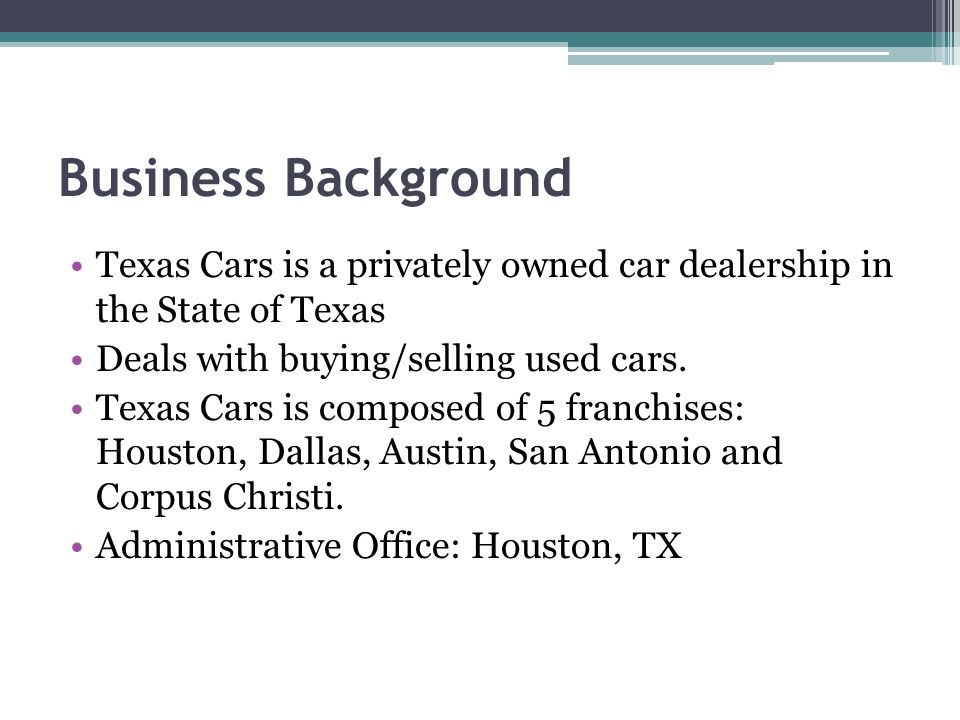 how to sell a car privately in texas