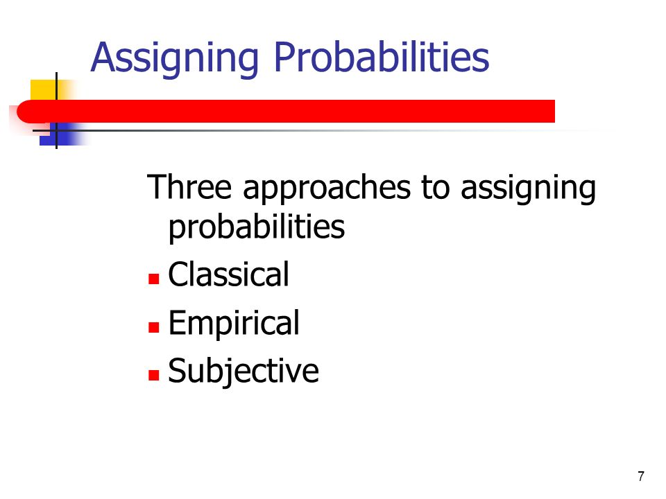 classical and empirical probabilities In this lesson, we're going to explore empirical probability we'll become familiar with the definition, look at some examples, and use the formula.