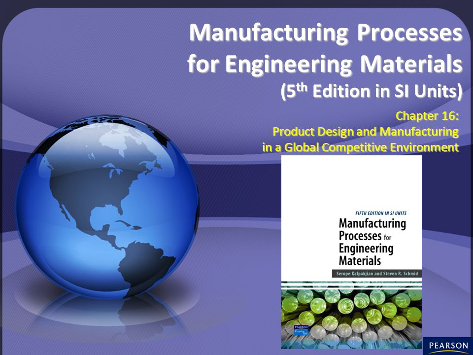 Chapter 16: Product Design and Manufacturing