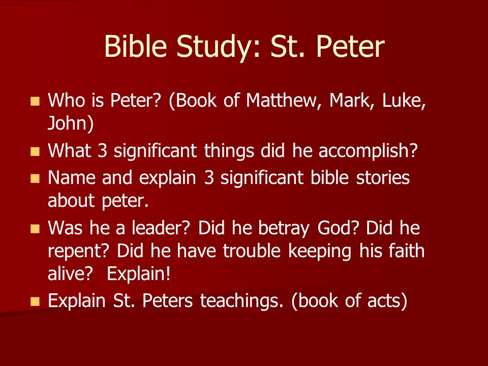Sermon Series: A Study Of The Book Of Luke - Shared by ...