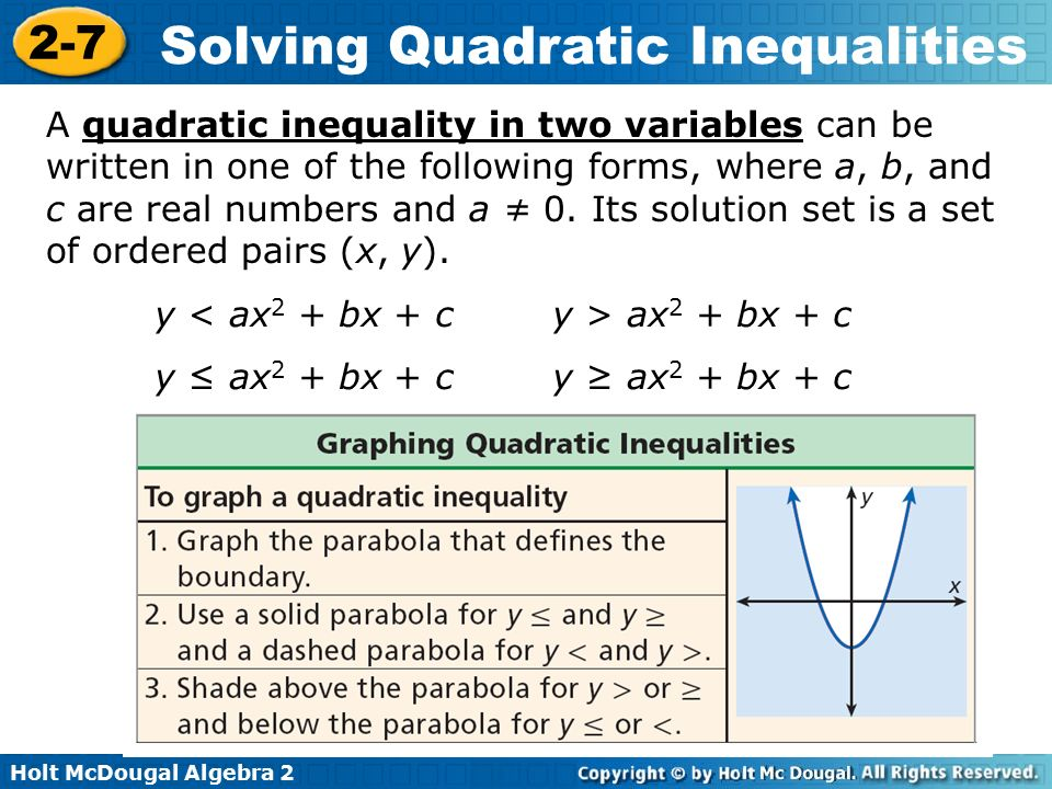 Solving A Quadratic Inequality Written In Factored Form Timiz