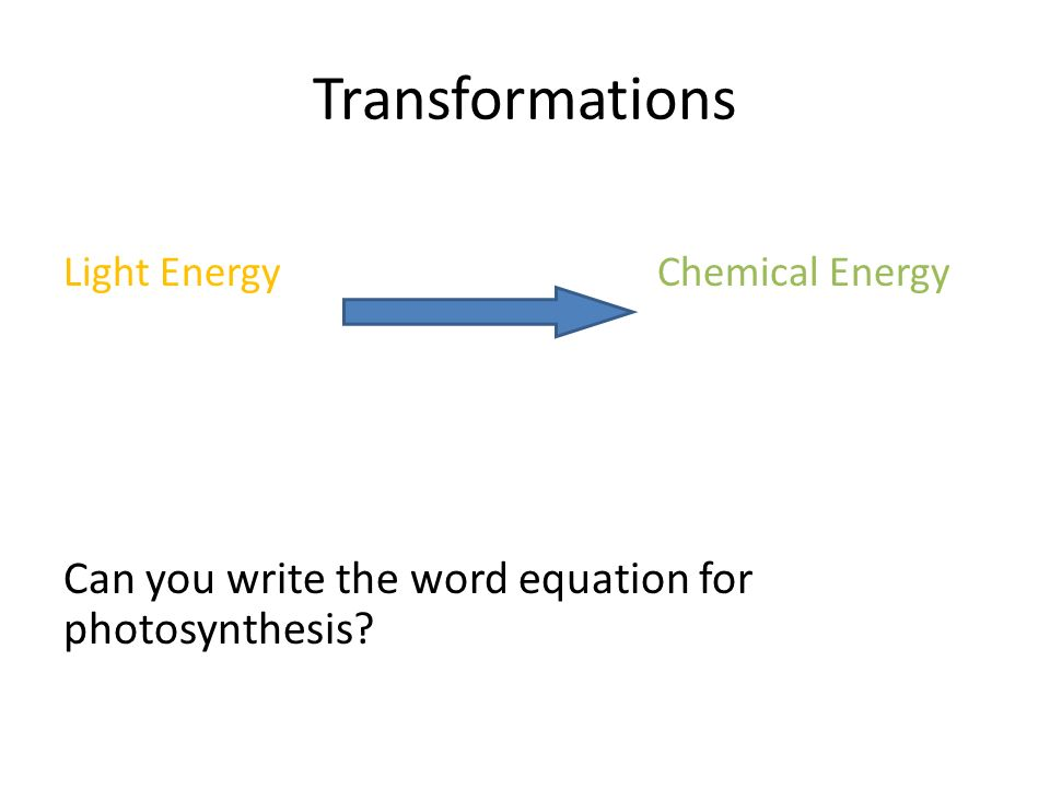 write the equation for photosynthesis 4 how does the equation for cellular respiration compare with the equation for photosynthesis photosynthesis: reactants products.