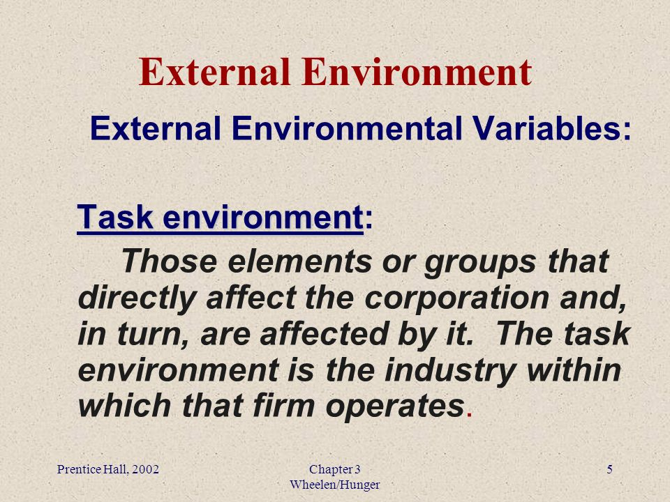 environmental scanning and industry analysis pdf