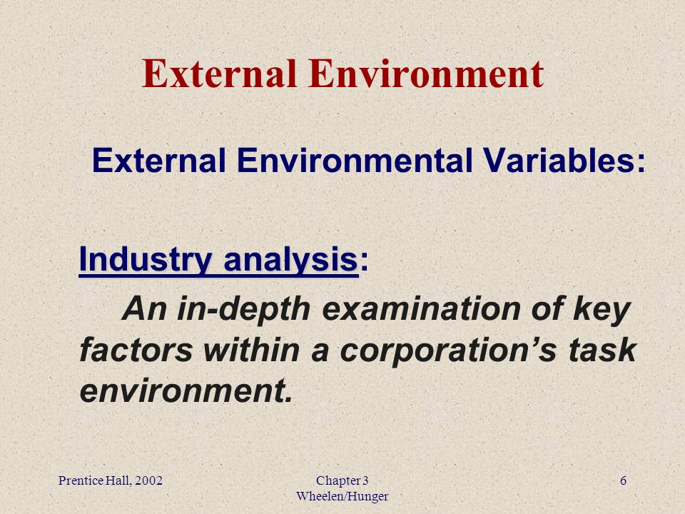 task environment analysis Business environment analysis background environmental analysis is a systematic process that starts from identification of environmental factors, assessing their nature and impact, auditing.