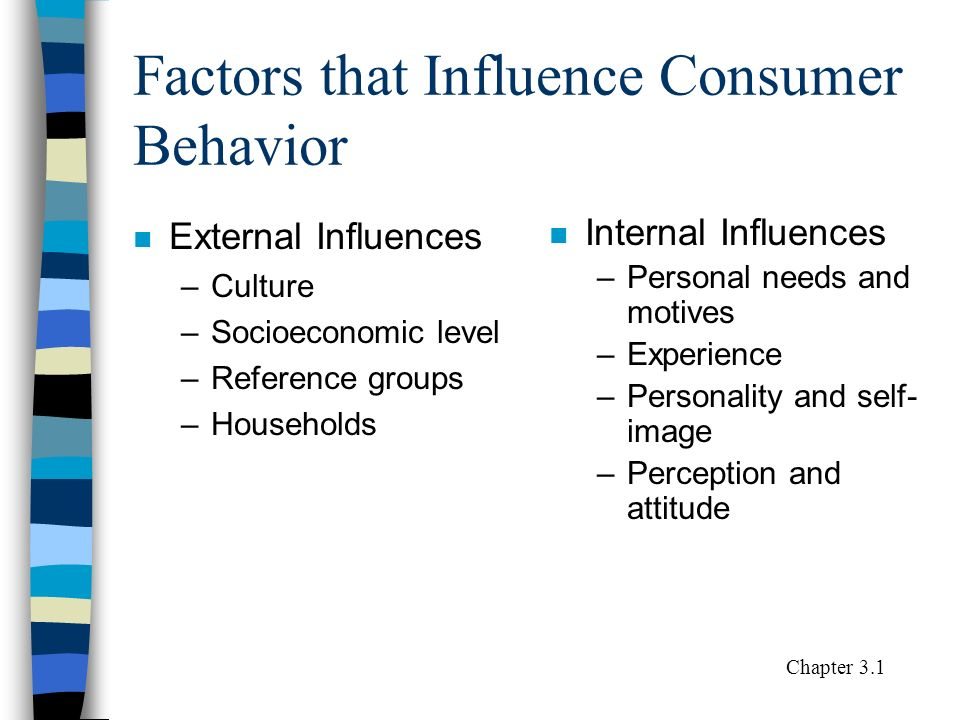 influences consumer behavior Acoustic influences on consumer behavior empirical studies on the effects of in-store music and product sound dissertation of the university of st gallen.