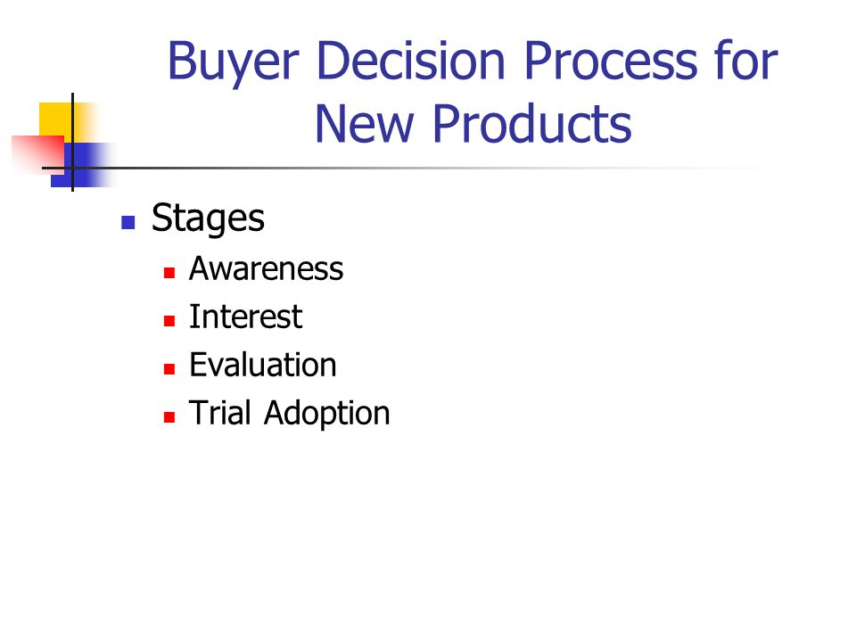 Buyer decision process Essay