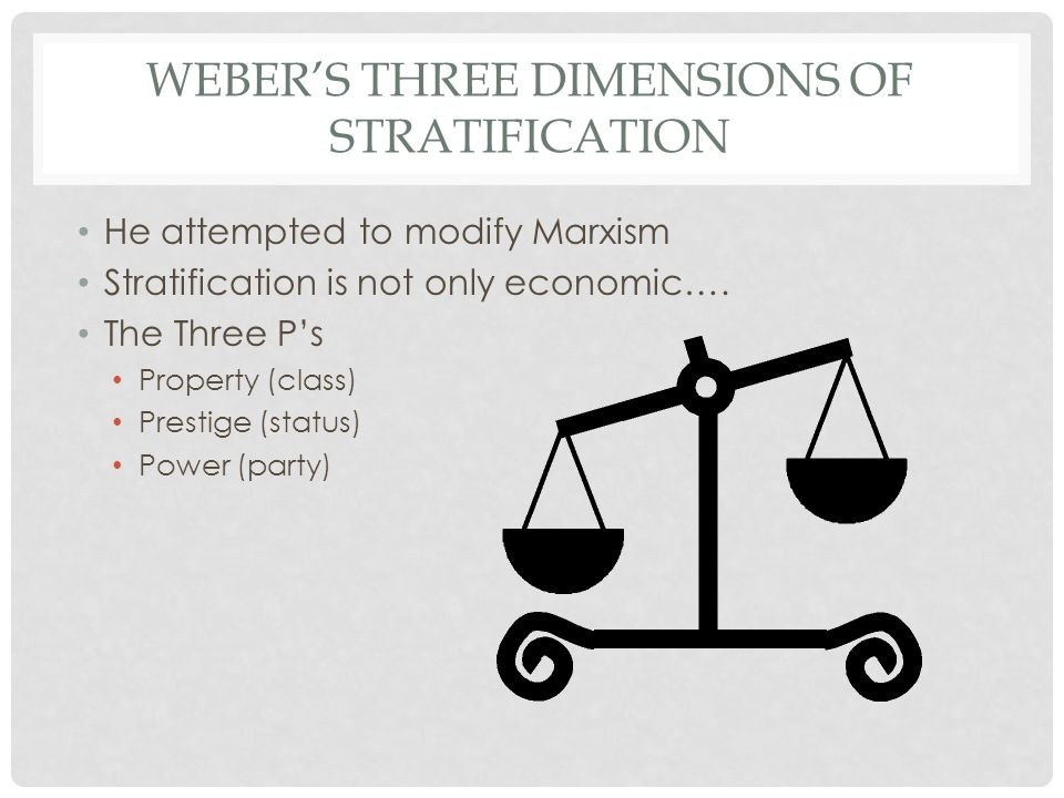 class status and party weber pdf
