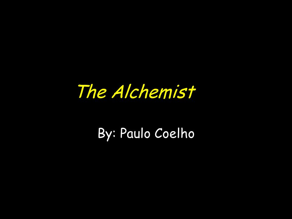 the alchemist by paulo coelho ppt video online  1 the alchemist by paulo coelho