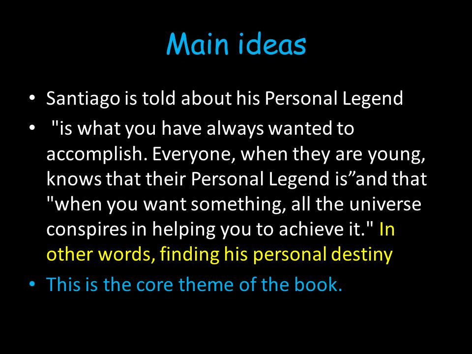 the alchemist by paulo coelho ppt video online  3 main