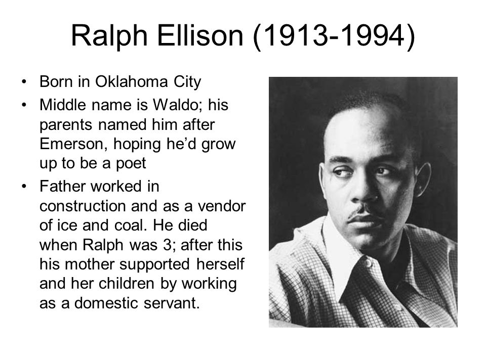 """a review of ralph ellisons battle royal """"battle royal"""" is a chapter in """"invisible man"""", a novel by ralph ellison in his  lifetime, """"invisible man"""" is ellison's sole novel but it won him the national book."""