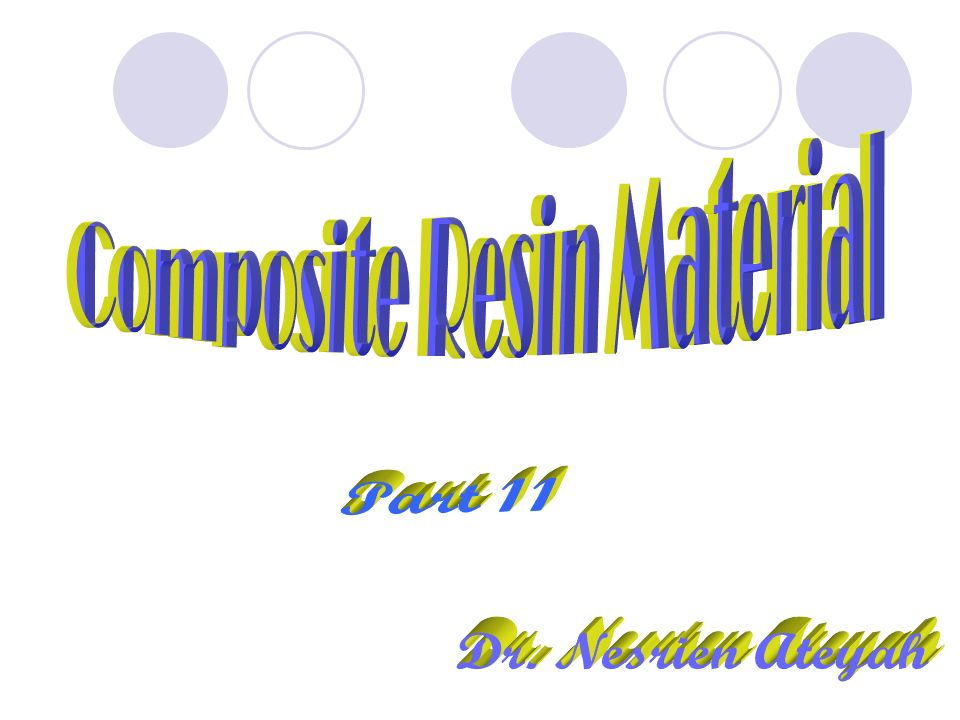 Composite Resin Material