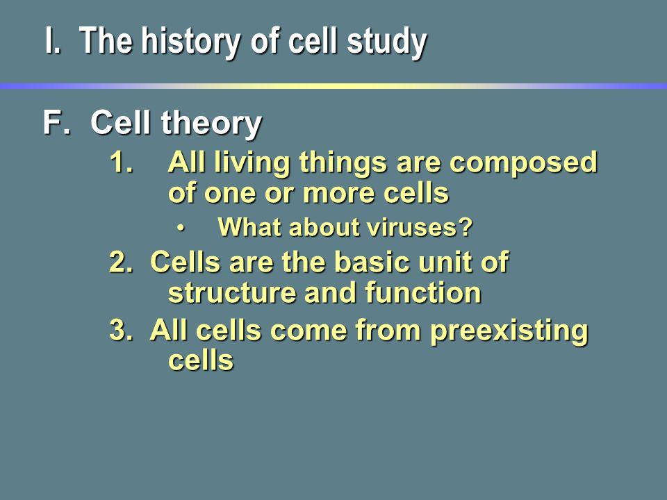 History of Cell Biology | BioExplorer.Net