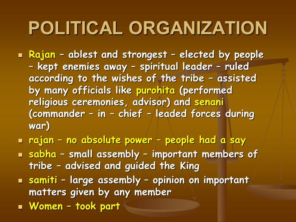 political organizations