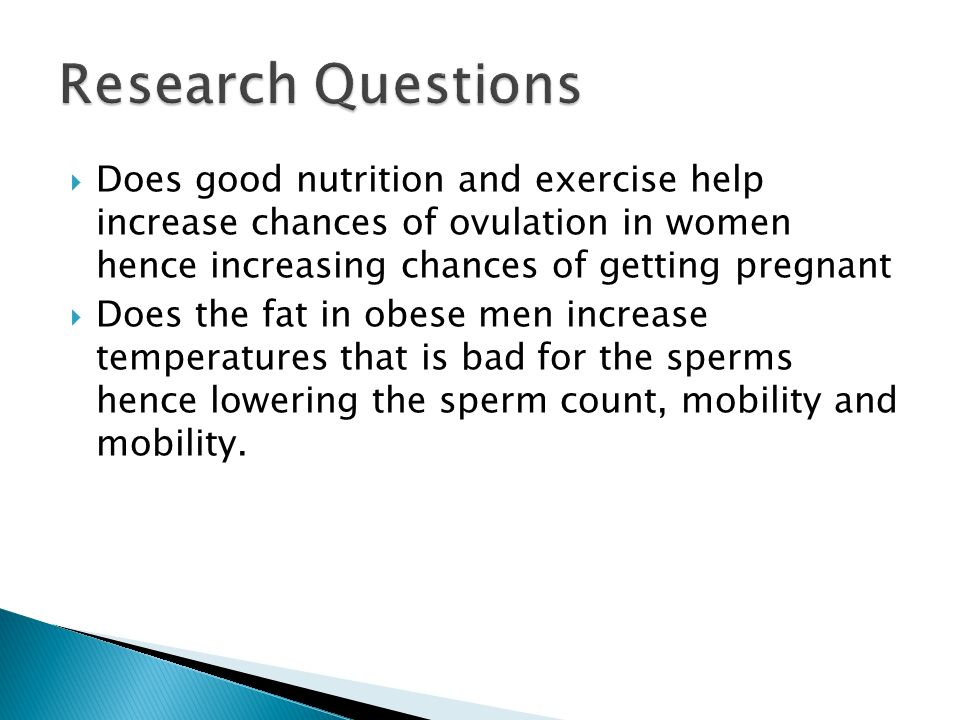 RESEARCH PROPOSAL THE RELATIONSHIP BETWEEN OBESITY AND ...
