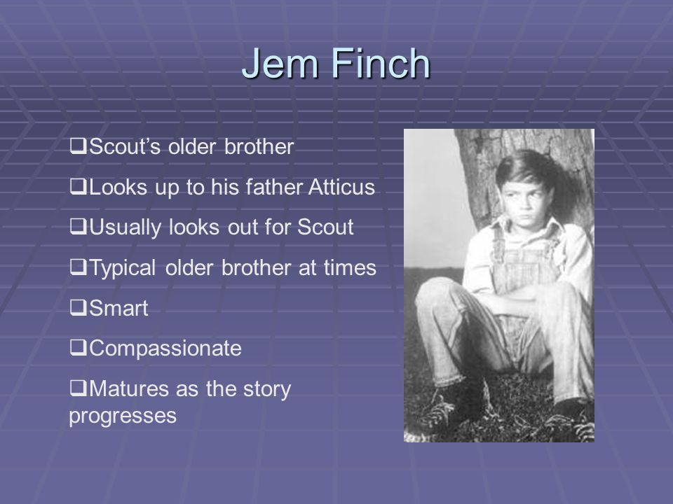 'TO KILL A MOCKINGBIRD', what does JEREMY FINCH LOOK LIKE?