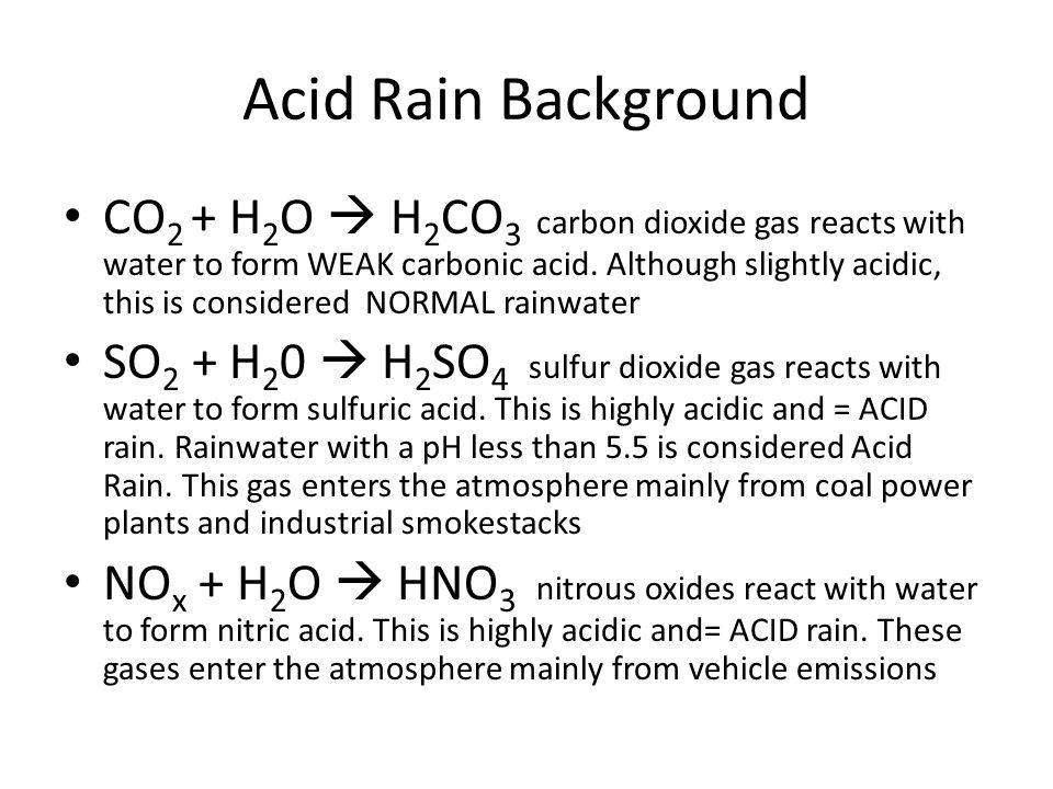 Acids/Bases/ & Acid Rain - ppt download